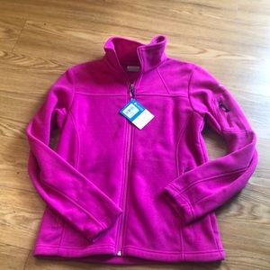 Columbia Give and Go Fill Zip Jacket.  NWT